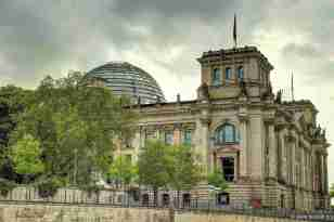 """das Reichstagsgebäude """"von hinten"""" :)"""