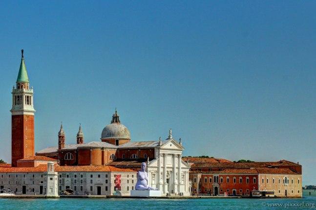 Die Basilika der Insel San Giorgio Maggiore