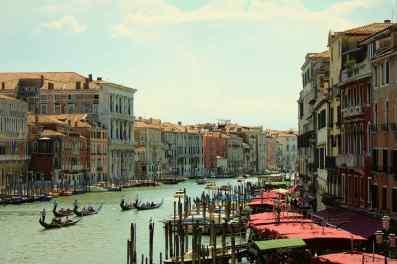 Der Canal Grande...