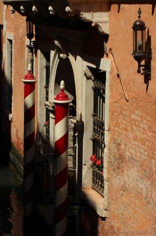 Typische Farben der Säulen...