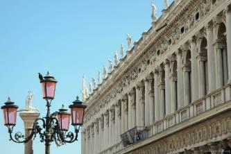 Fassaden am Piazza San Marco