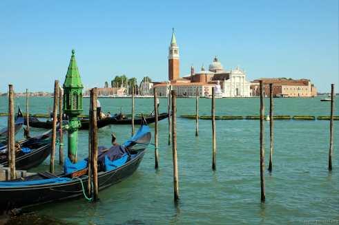 Ein Blick auf die Insel San Giorgio Maggiore