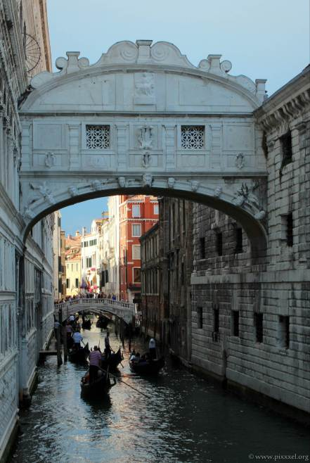 Ponte dei Sospiri oder auch die Seufzerbrücke