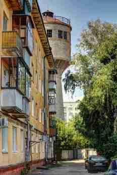 Ein Wasserturm...