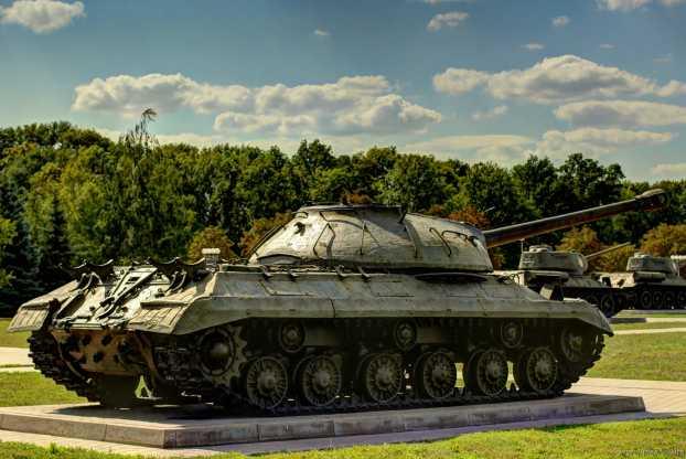 Der Panzer IS-3.