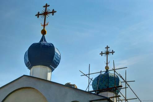 Die Kirche der Gottesmutter des Zeichens in Tim.