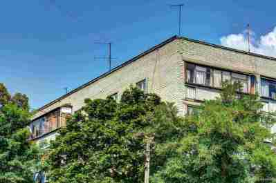 Ein Wohnhaus