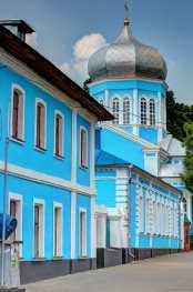 Die Kirche St. Nikita an der Jausa.