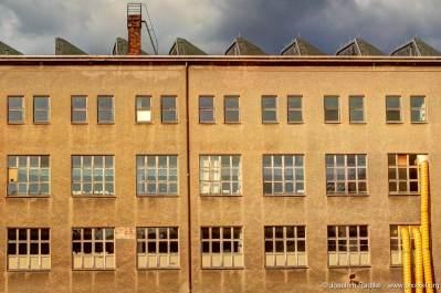 eine ehemalige Fabrikhalle