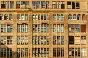 die Fassaden der ehemailigen Secura-Werke
