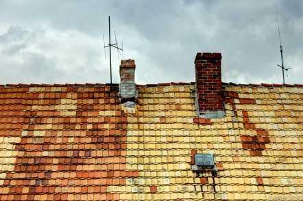 ...ein bisschen auch am Dach.