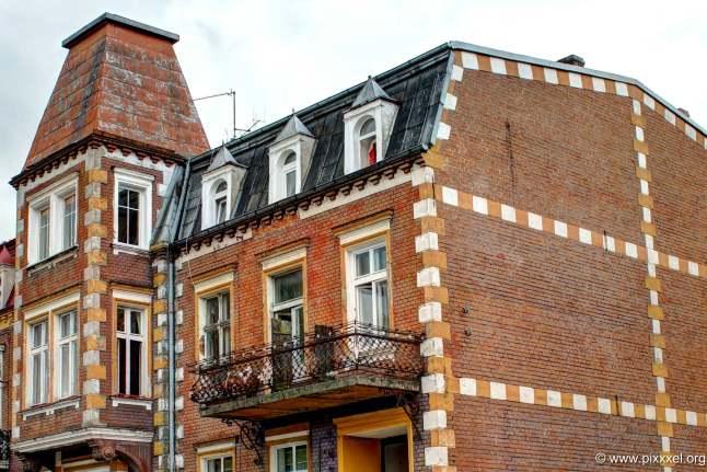 eine alte Fassade