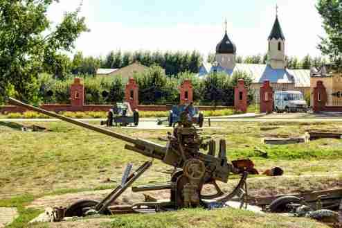 sowjetische 37-mm-Flugabwehrkanone M1939