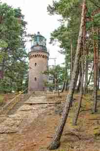 Der Leuchtturm bei Rowy