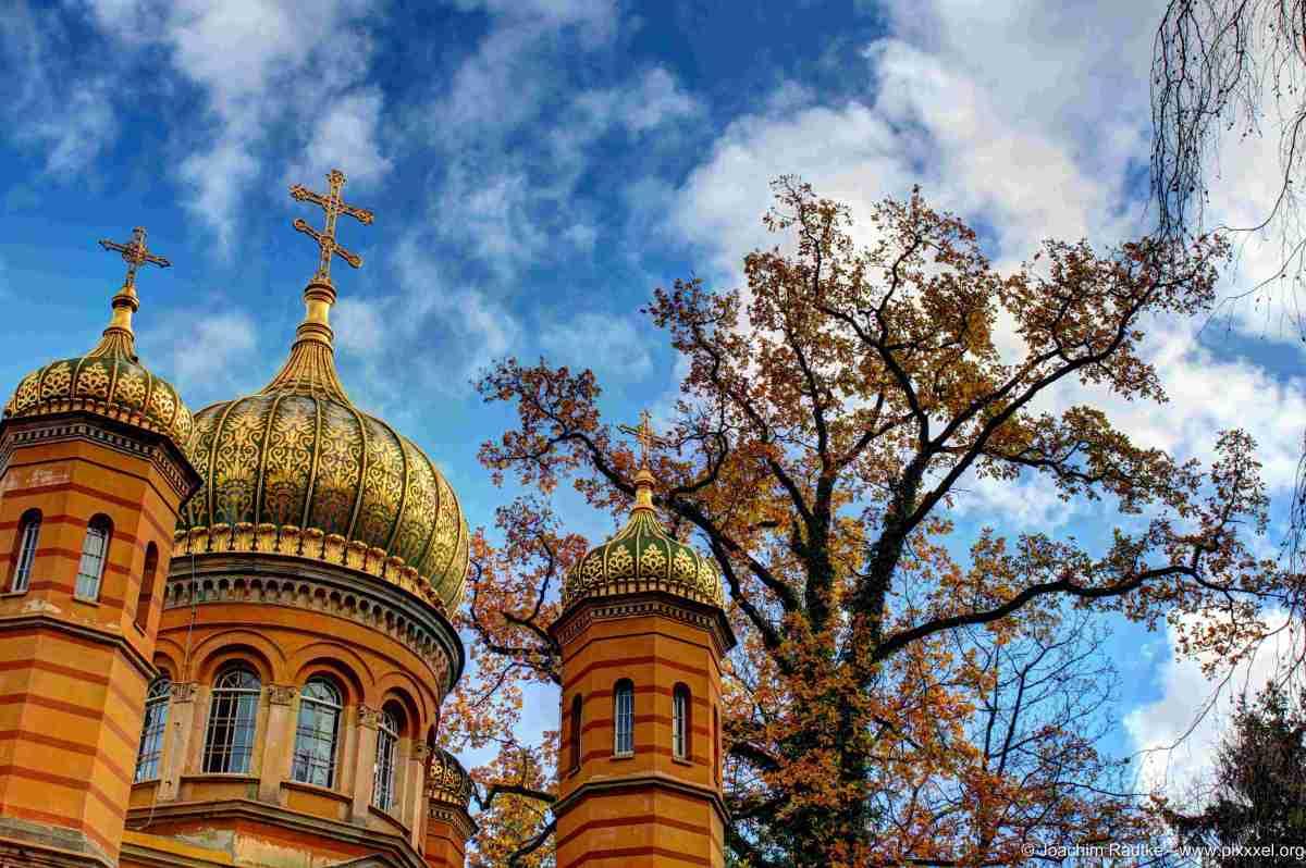 Die Russisch-Orthodoxe Kirche in Weimar (1 Bild)