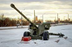 100-mm Geschütz
