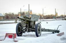 122-mm Haubitze
