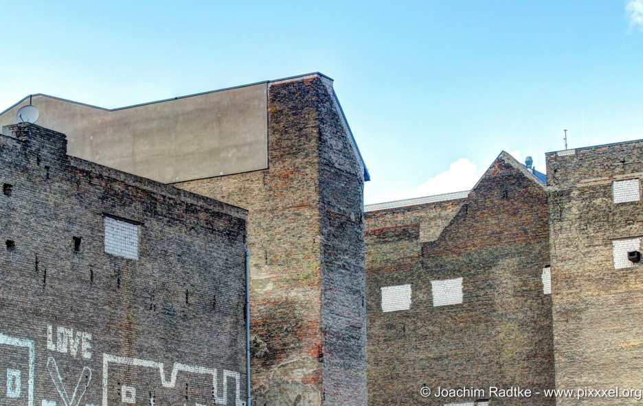 Berliner Häuserwände