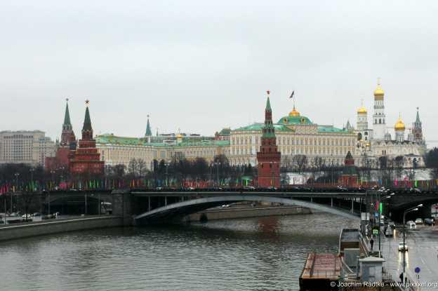 Richtung Kreml