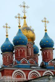 Kirche des siegreichen Georg zu den Hügeln von Pskov - erbaut: 1657—1658