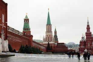 Blick über den roten Platz
