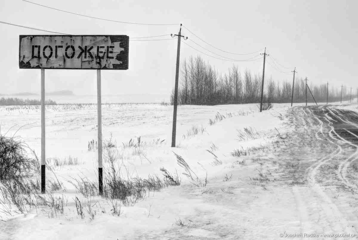 Winter in Russland (Kursker Gebiet)