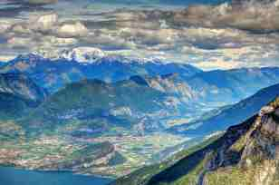 Blick vom Monte Baldo, Italien (11)