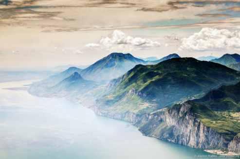 Blick vom Monte Baldo, Italien (2)