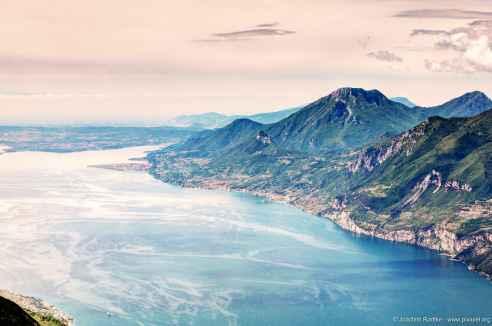 Blick vom Monte Baldo, Italien (3)
