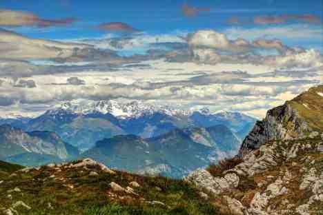 Blick vom Monte Baldo, Italien (6)
