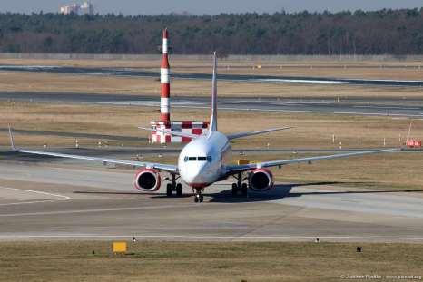 Eine Boeing 737-800 oder auch in Kurzform B738