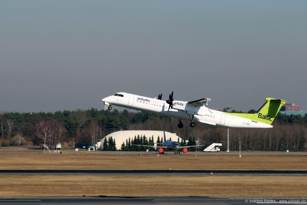 Eine Bombardier Dash 8q-400