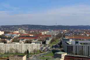 Panorama von der Kuppel der Frauenkirche aus gesehen