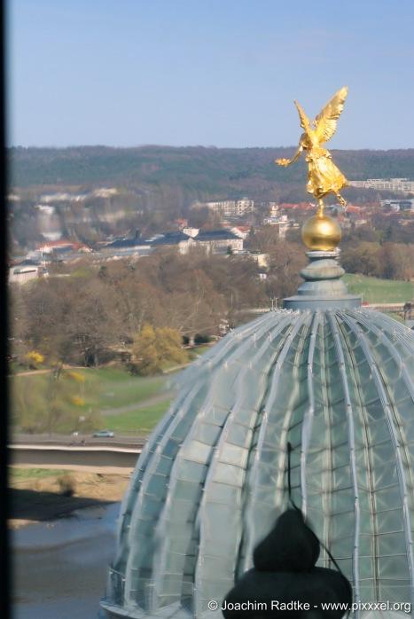 die Kuppel der Hochschule der Bildenden Künste