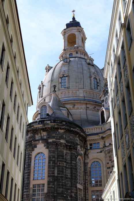die Kuppel der Frauenkirche