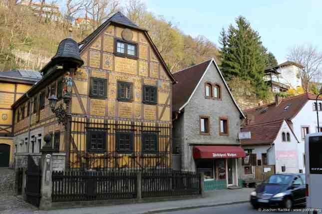 ein hübsches Haus