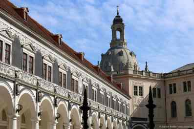 Fürstenzug und Frauenkirche