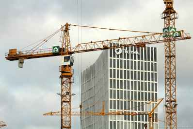 Baustelle am Hauptbahnhof