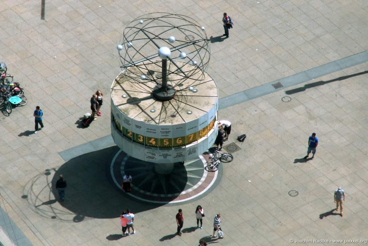 Aussichten vom Berliner Fernsehturm