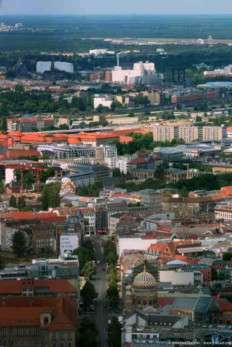 Blick über die Oranienstraße