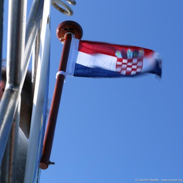 die Fahne im Wind