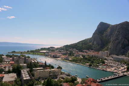 Mündung des Flüsses Cetina