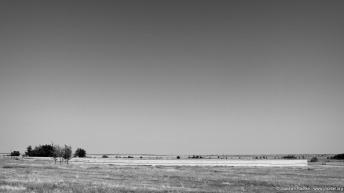 Der Kreisförmige Friedhof in der Steppe