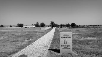 Der Weg zu den Gräbern