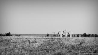 Die Fläche des Friedhofs