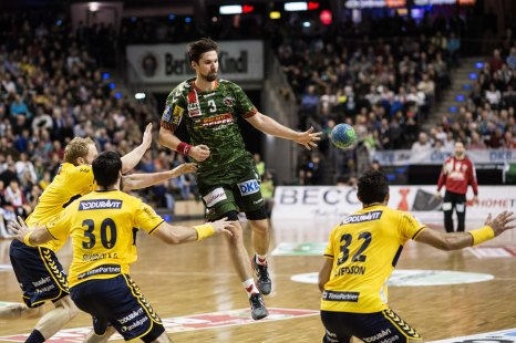 DKB Bundesliga Handball 14.12.2014 Füchse Berlin - Rhein-Neckar Löwen,J.Radtke,www.pixxxel (108)