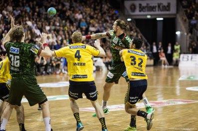 DKB Bundesliga Handball 14.12.2014 Füchse Berlin - Rhein-Neckar Löwen,J.Radtke,www.pixxxel (113)