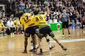 DKB Bundesliga Handball 14.12.2014 Füchse Berlin - Rhein-Neckar Löwen,J.Radtke,www.pixxxel (116)