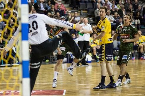 DKB Bundesliga Handball 14.12.2014 Füchse Berlin - Rhein-Neckar Löwen,J.Radtke,www.pixxxel (130)