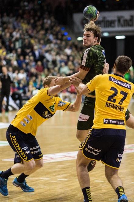 DKB Bundesliga Handball 14.12.2014 Füchse Berlin - Rhein-Neckar Löwen,J.Radtke,www.pixxxel (132)